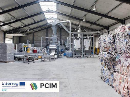 Visite usine PCIM - isolant ouate de cellulose